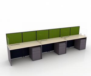 Safe Distance Table Top Panel 1 - Mono